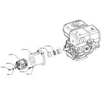Gas Hyd. Pump w/ Hardware Kit
