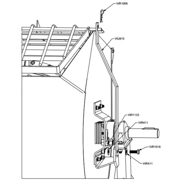 Grill Lock Hardware Kit
